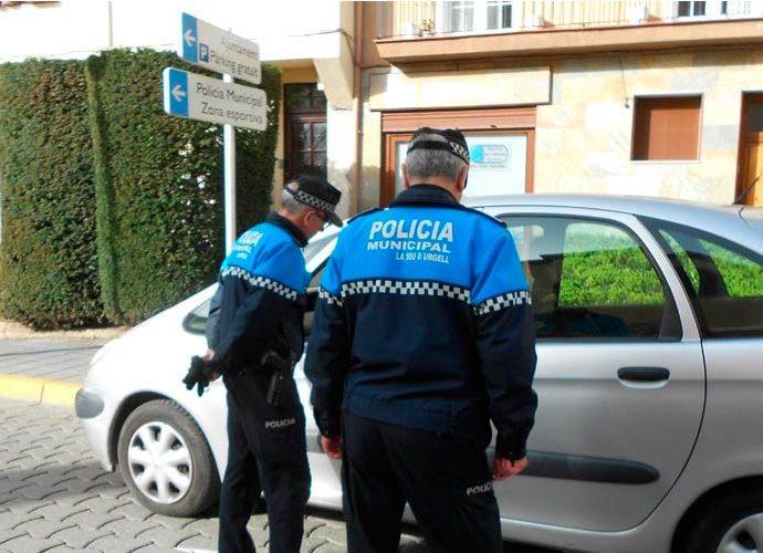 Agents de la Policia Municipal de la Seu d'Urgell