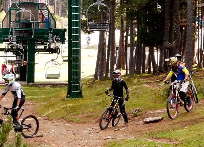 El bike park de Vallnord Pal Arinsal
