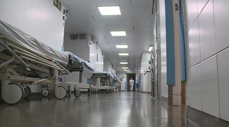 Passadís d'urgències de l'hospital