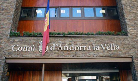 Façana del comú d'Andorra la Vella