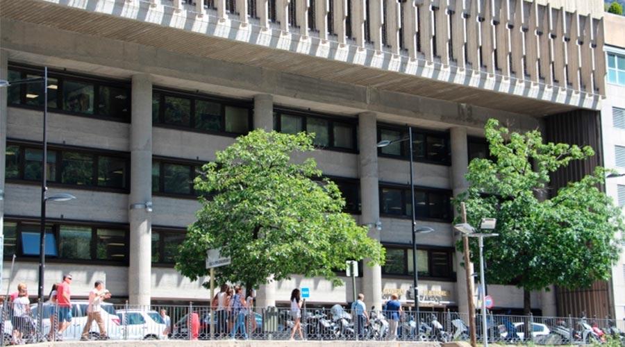 L'Edifici Administratiu del Govern. Foto: ARXIU