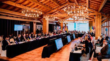 Reunió dels ministres d'Exteriors de la Cimera Iberoamericana el passat novembre
