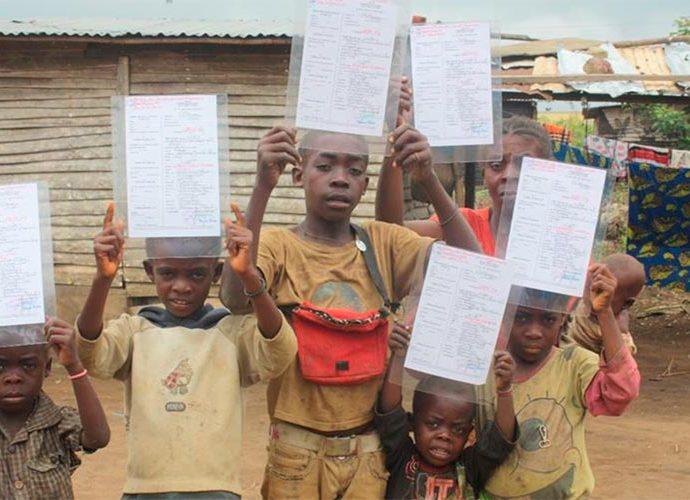 infants i joves congolesos