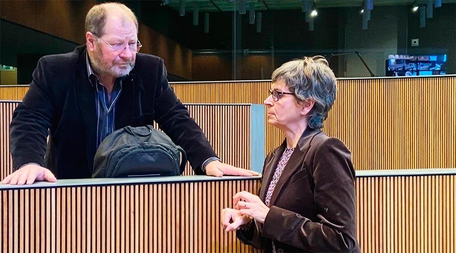 Susanna Vela parla amb Jordi Font