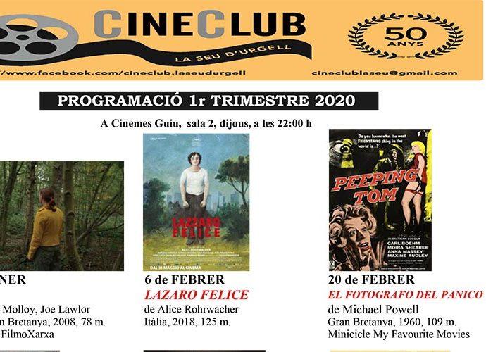 programa gener febrer cineclub SdU