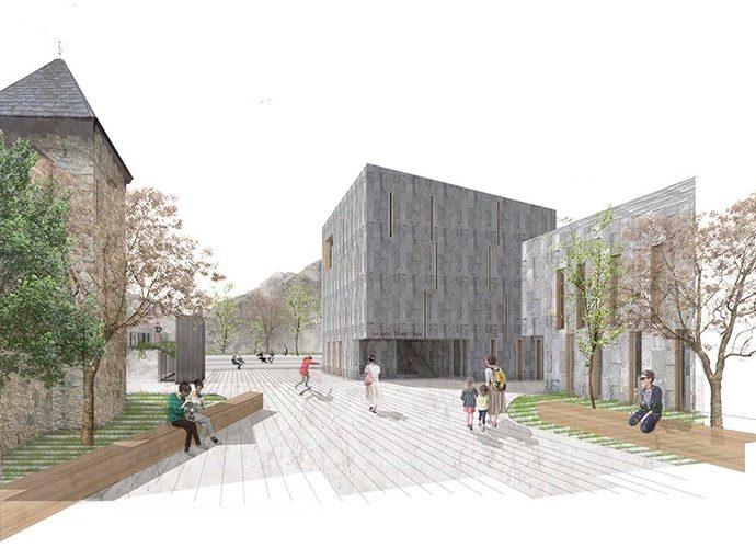 Projecte guanyador del concurs idees entorn Casa de la Vall