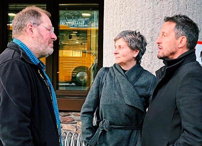 Susanna Vela conversa amb Jordi Font i Pere López