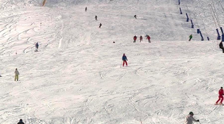 Esquiadors a Grandvalira