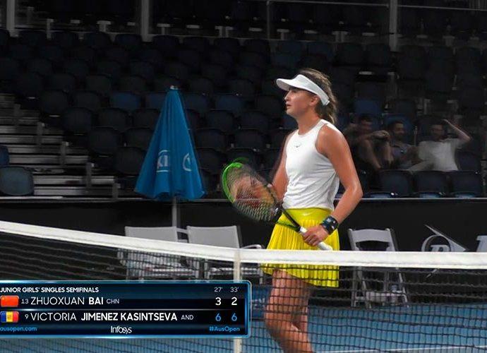 Vicky Jimenez guanya Open Australia junior de tenis