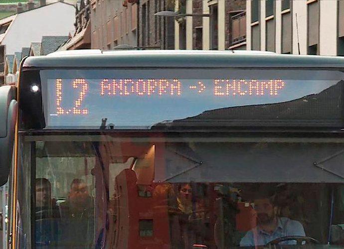 autobús d'andorra la vella a encamp