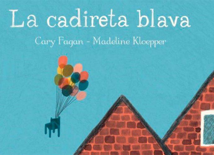 portada del llibre infantil La cadireta blava