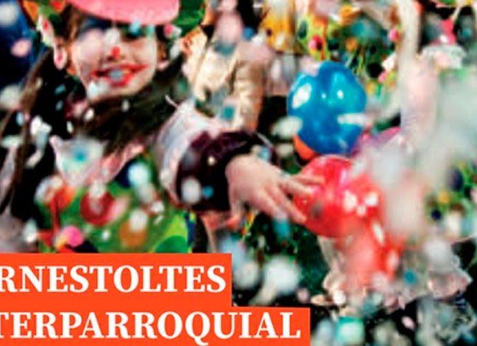 Part del cartell del Carnaval interparroquial de la gent gran del 2020