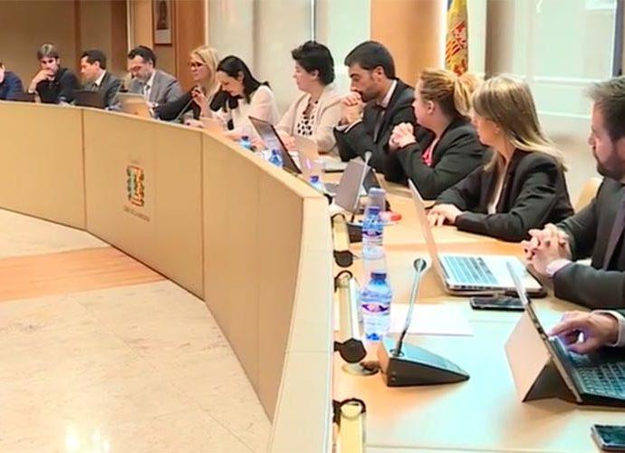 Sessió del Consell de Comú de la Massana