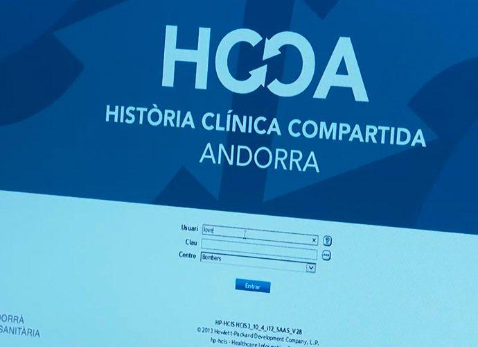 programa informàtic de la història clínica compartida