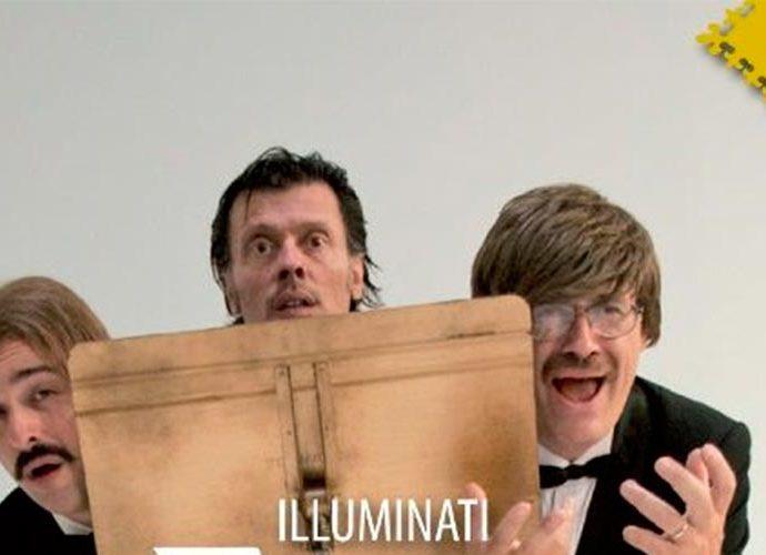 Tros del cartell de Tenors, espectacle de la companyia Illuminati