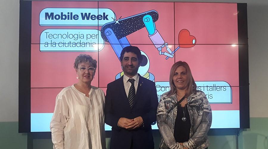 inauguració de la mobile week a tremp