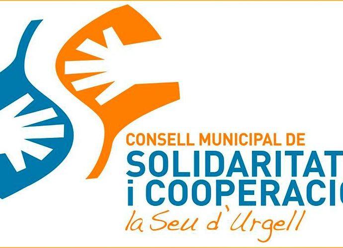Logotip del Consell municipal de Solidaritat i cooperació de la Seu d'Urgell