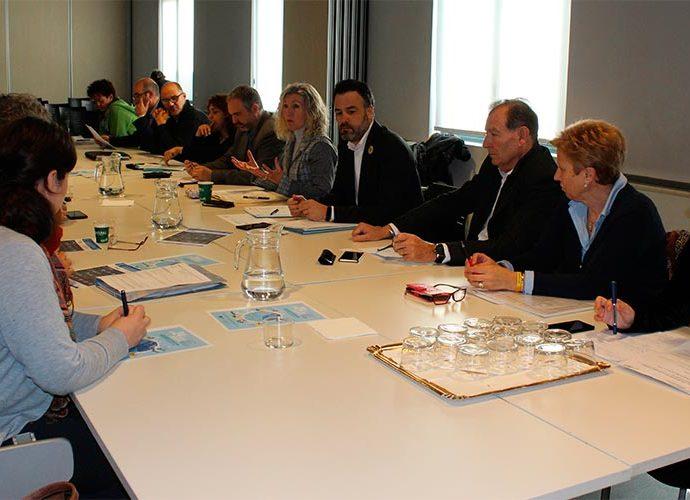Representants de l'Alt Pirineu reunits a la Seu d'Urgell per tractar la Reforma Horària