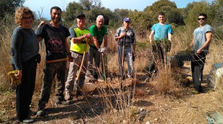 Voluntaris que rehabiliten el camí ramader de Vilanova a la Cerdanya