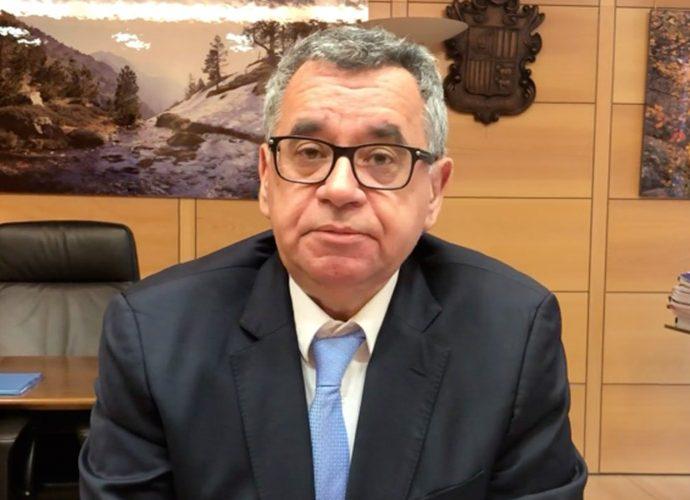 Albert Moles, director General de Forces Elèctriques d'Andorra (FEDA)