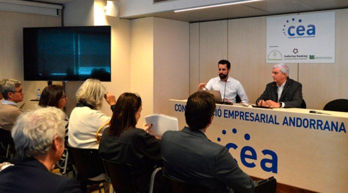 El gerent i el president de la CEA, Iago Andreu i Gerard Cadena (M. F.)