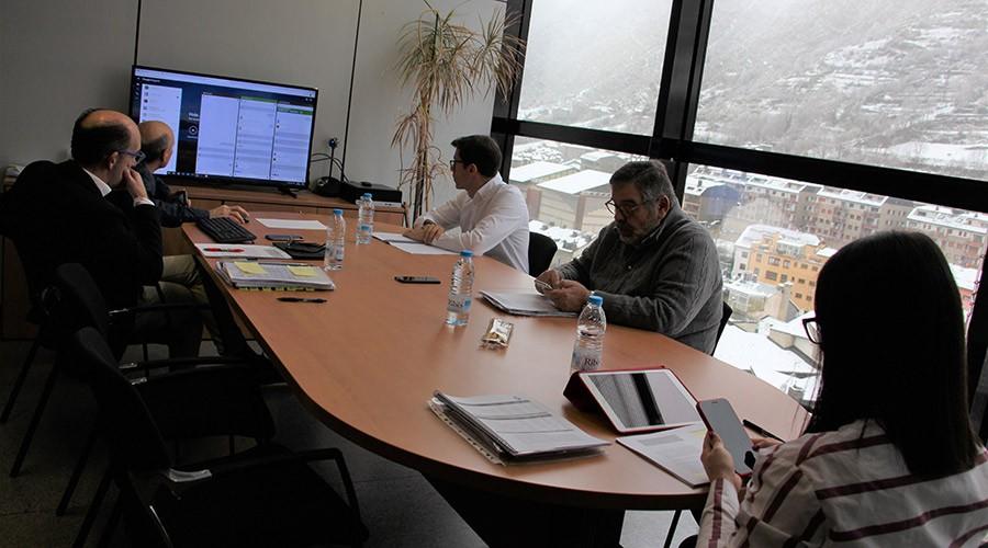 Consell de Comú d'encamp per videoconferència