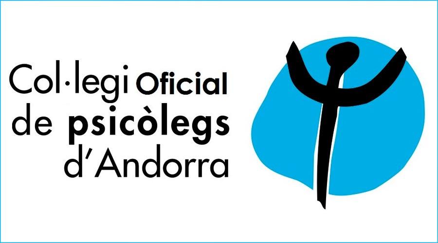 Logotip del Col·legi de psicòlegs d'Andorra