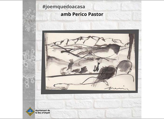 Dibuix #emquedocadí de Perico Pastor