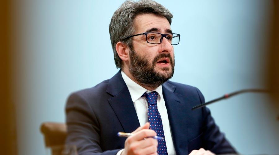 Eric Jover, ministre de FInances i Portaveu