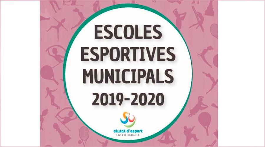 Cartell escoles esportives de la Seu d'Urgell