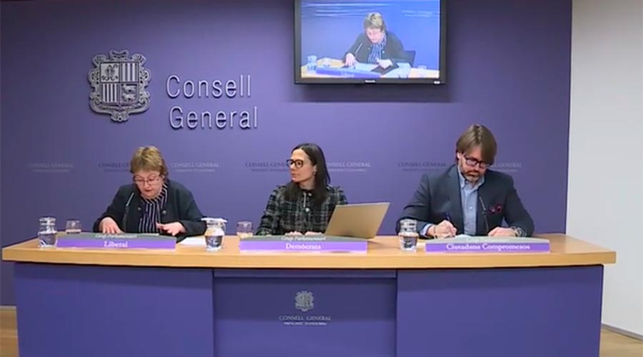Sílvia Ferrer, Ester Molné i Carles Naudi
