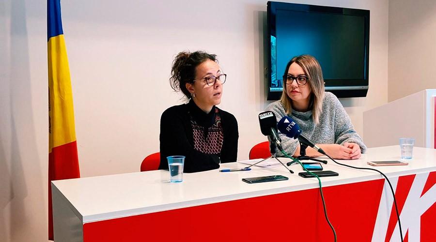 Judith Salazar i Cristina Valen