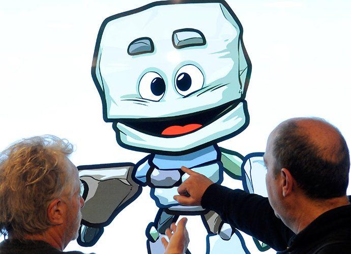 la mascota dels Jocs del Petits Estats d'Europa