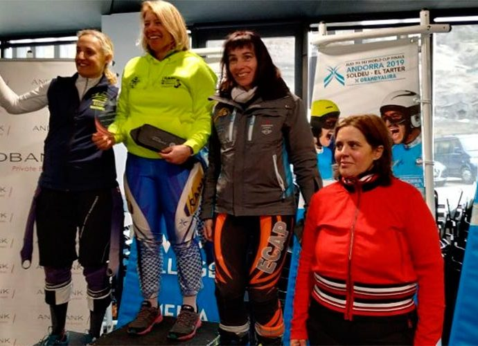 Podi femení del campionat de veterans Manel Cerqueda