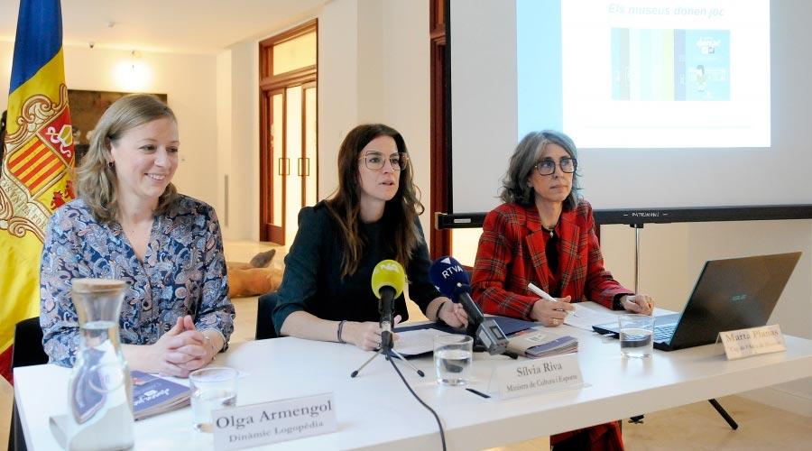 Olga Armengol, Silvia Riva i Marta Planas.
