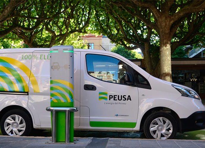 Un vehicle de PEUSA