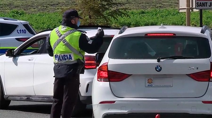control de policia