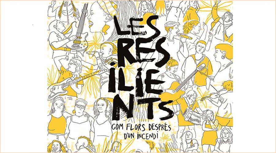 Part del cartell de la sessió del Cineclub la Seu d'Urgell anunciant la projecció de 'Les Resilients'