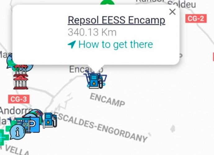 Captura de pantalla de l'app Paymeter