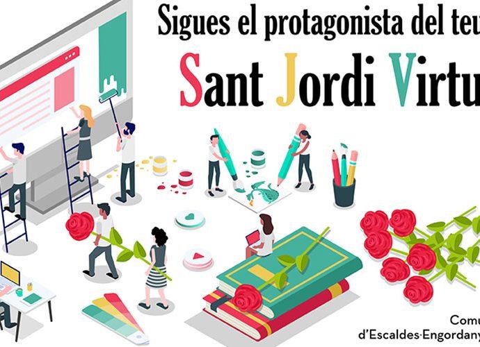Anunci de Sant Jordi Virtual