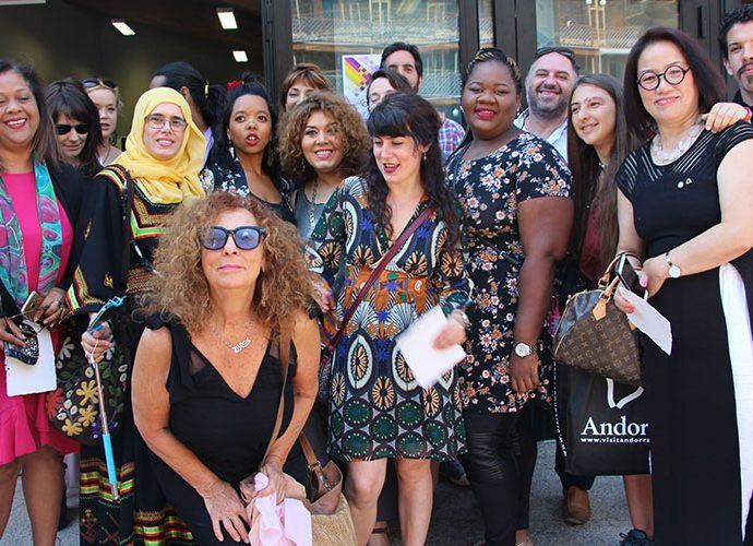 Participants de l'Art camp 2018