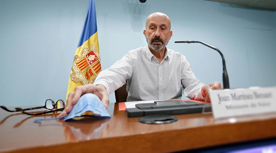 El ministre de Salut, Joan Martínez Benazet