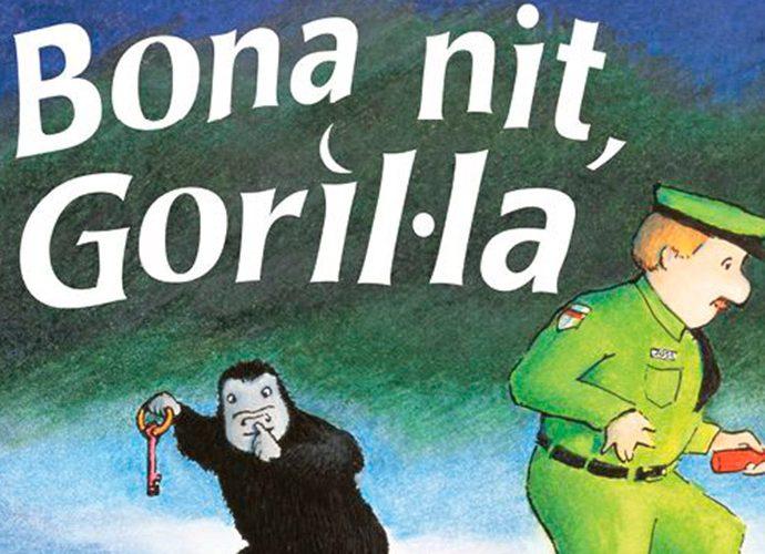 Portada del llibre Bona nit goril·la