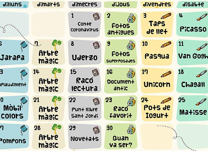 Calendari d'activitats culturals a Escaldes-Engordany