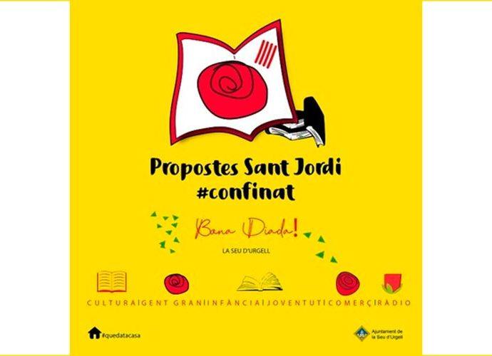 Cartell de Sant Jordi de la Seu d'Urgell