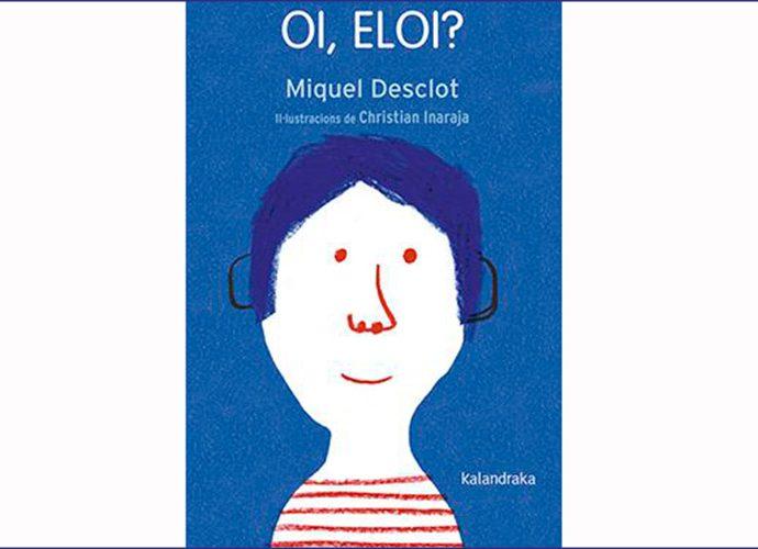 """Portada del llibre de poemes infantils """"Oi, Eloi?"""""""