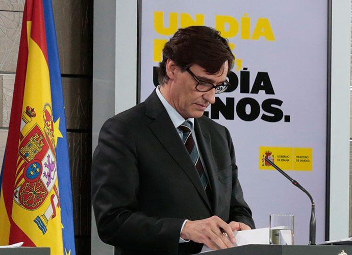 Salvador Illa, ministre de Sanitat d'Espanya
