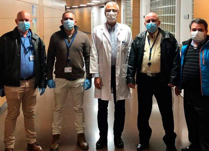 sanitaris cubans a l'hospital