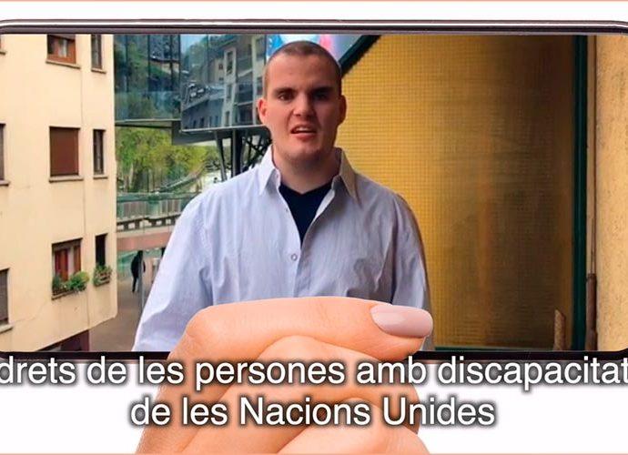 Captura del vídeo elaborat per la FAAD