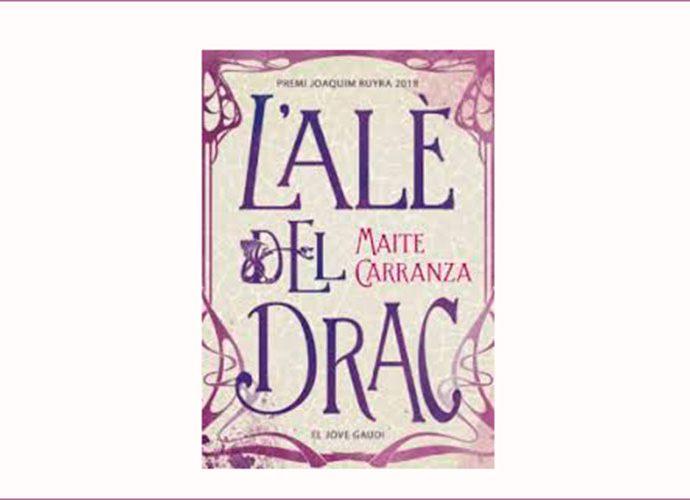 portada de la novel·la L'alè del Drac